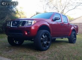 "2014 Nissan Frontier - 22x9.5 18mm - Dolce Dc66 - Suspension Lift 4.5"" - 305/45R22"