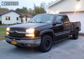 2004 Chevrolet Silverado 1500 - 16x8 0mm - Pro Comp Series 31 - Stock Suspension - 265/75R16