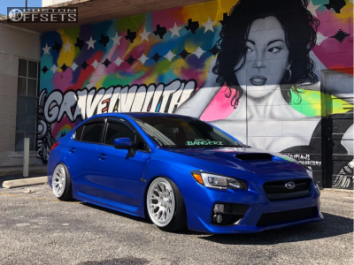 how to run 18x10.5 22 offset on subaru wrx 2017