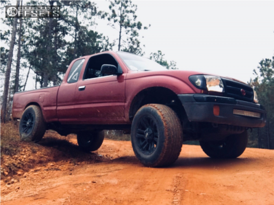 1999 Toyota Tacoma - 17x8.5 12mm - Mb Wheels Tko - Leveling Kit - 265/70R17
