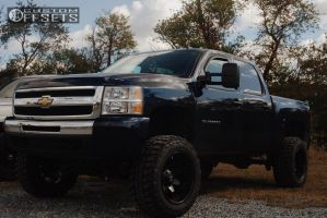 "2009 Chevrolet Silverado 1500 - 20x12 -46mm - Fuel Octane - Suspension Lift 8"" - 35"" x 12.5"""
