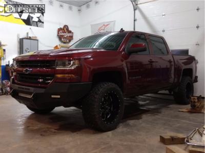 "2016 Chevrolet Silverado 1500 - 20x10 -25mm - Ultra Hunter - Leveling Kit - 33"" x 12.5"""