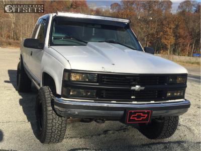 """1998 Chevrolet K1500 - 15x10 -44mm - Pro Comp 51 - Suspension Lift 3"""" - 33"""" x 12.5"""""""
