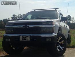 2005 Chevrolet Colorado - 17x9 -12mm - Dick Cepek Dc-2 - Leveling Kit - 285/70R17