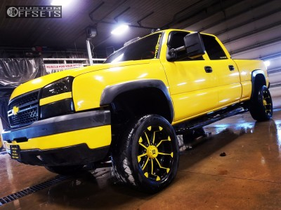 "2006 Chevrolet Silverado 2500 HD Classic - 20x9 -12mm - XD Badlands - Suspension Lift 2.5"" - 305/50R20"