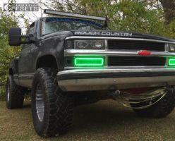 """1994 Chevrolet K1500 - 18x10 -24mm - Pro Comp N/a - Suspension Lift 3"""" - 35"""" x 12.5"""""""