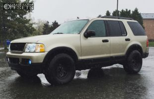 2003 Ford Explorer - 16x8 -19mm - Pro Comp Series 52 - Stock Suspension - 265/75R16