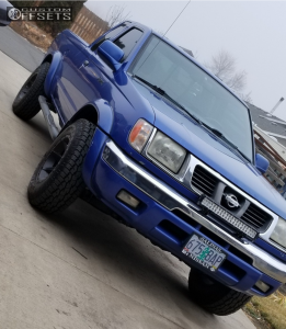 """1999 Nissan Frontier - 15x8 -19mm - Ultra Crusher - Stock Suspension - 30"""" x 9.5"""""""