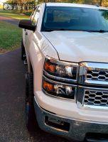 2014 Chevrolet Silverado 1500 - 20x9 -12mm - Xd Hoss - Leveling Kit - 275/55R20