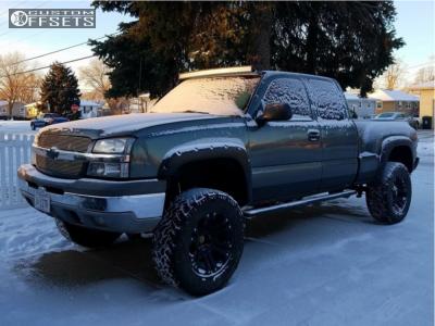 "2003 Chevrolet Silverado 1500 - 20x10 -12mm - XD Xd778 - Suspension Lift 6"" - 35"" x 12.5"""