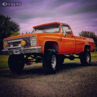 "1986 Chevrolet K20 - 17x9 -12mm - Pacer Lt - Suspension Lift 5"" - 37"" x 12.5"""