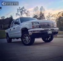 """2006 Chevrolet Silverado 1500 - 20x9 1mm - Fuel Nutz - Suspension Lift 3"""" - 33"""" x 13.5"""""""