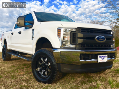 2018 Ford F-250 Super Duty - 20x9 1mm - Ultra Menace - Leveling Kit - 285/65R20