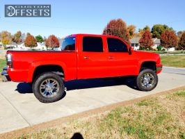 "2004 Chevrolet Silverado 1500 - 20x9 18mm - XD Monster - Suspension Lift 6.5"" - 35"" x 12.5"""