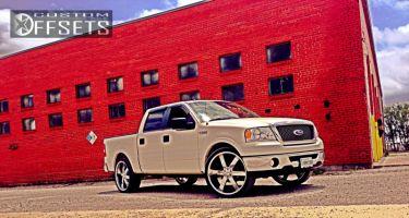 2008 Ford F-150 - 26x10 25mm - U2 55 - Stock Suspension - 305/30R26
