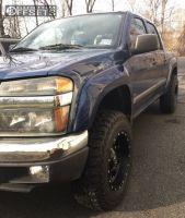 2006 Chevrolet Colorado - 17x9 -12mm - Fuel Krank - Leveling Kit - 245/75R17