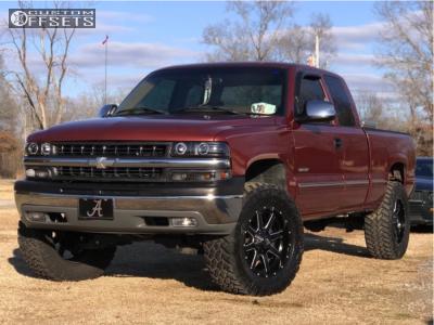 "1999 Chevrolet C1500 - 20x9 5mm - Fuel 538 - Suspension Lift 6"" - 35"" x 12.5"""