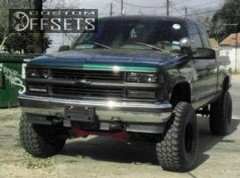 "1996 Chevrolet Silverado 1500 - 15x10 1mm - American Racing N/A - Suspension Lift 6"" - 35"" x 12.5"""