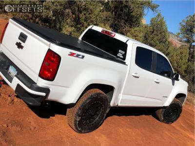 "2015 Chevrolet Colorado - 17x8.5 0mm - Method Grid - Suspension Lift 2.5"" - 285/70R17"