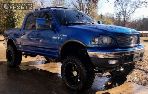 How Much To Lift A Truck >> 2001 Ford F 150 Moto Metal Mo979 Rough Country | Custom Offsets