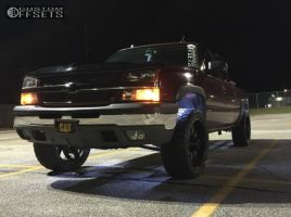 "2005 Chevrolet Silverado 1500 - 22x10 -12mm - Red Dirt Road Rd01 - Leveling Kit - 33"" x 12.5"""