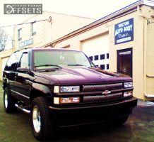 1998 Chevrolet Tahoe - 18x8.5 0mm - Enkei RT-6 - Leveling Kit - 285/60R18
