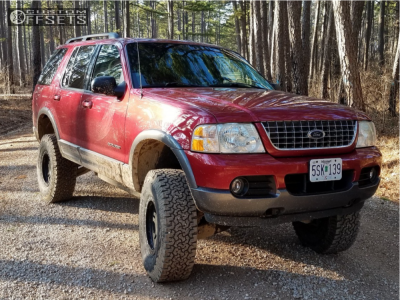 "2004 Ford Explorer - 16x8 0mm - Pro Comp Series 29 - Suspension Lift 3"" - 285/75R16"