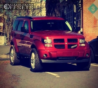 2011 Dodge Nitro - 20x7.5 40mm - Spaced Out Stockers Spaced Out Stockers - Leveling Kit - 265/50R20