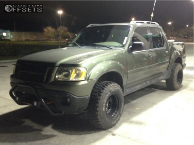 """2002 Ford Explorer Sport Trac - 15x10 -44mm - Pro Comp Series 97 - Leveling Kit - 31"""" x 10.5"""""""