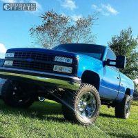 "1988 Chevrolet K1500 - 18x10 -12mm - Eagle Alloy Series 064 - Body Lift 3"" - 305/60R18"