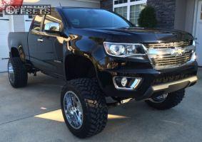 "2015 Chevrolet Colorado - 20x12 -44mm - Gear Off-Road Big Block - Lifted >9"" - 305/55R20"