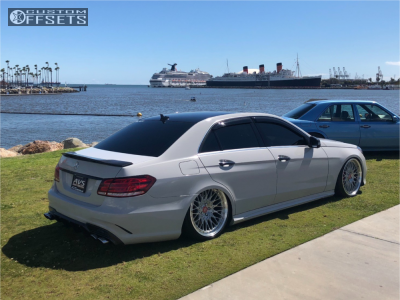 2007 Mercedes Benz E550 Fitment Gallery Custom Offsets