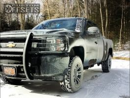 "2010 Chevrolet Silverado 1500 - 18x9 18mm - XD Monster - Body Lift 3"" - 32"" x 10.5"""