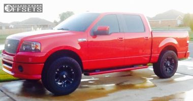 2008 Ford F-150 - 18x9 -12mm - Xd Monster - Leveling Kit - 325/65R18