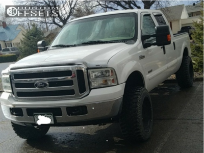 """2006 Ford F-250 Super Duty - 20x12 -51mm - Vision Prowler - Leveling Kit - 33"""" x 12.5"""""""
