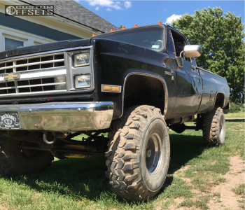 "1986 Chevrolet K10 Pickup - 20x12 -44mm - Fuel Maverick - Suspension Lift 6"" & Body 3"" - 35"" x 12.5"""