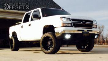 """2007 Chevrolet Silverado 1500 - 20x12 -44mm - Fuel Octane - Suspension Lift 6"""" - 305/50R20"""