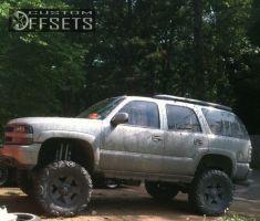 "2004 Chevrolet Tahoe - 18x9 0mm - XD Rockstar - Lifted >9"" - 37"" x 13.5"""