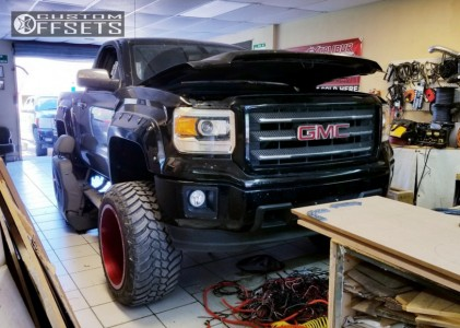 Garcias Tire Shop >> 2014 Gmc Sierra 1500 Fuel Cleaver Pro Comp Suspension Lift 6in | Custom Offsets