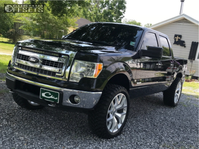 """2013 Ford F-150 - 24x10 31mm - VIPCO Wheel Replicas Other - Leveling Kit - 35"""" x 12.5"""""""