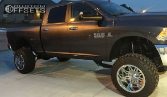 "2016 Ram 2500 - 20x14 -76mm - Fuel Hostage - Suspension Lift 5"" - 35"" x 12.5"""
