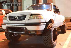 "2002 Mazda B3000 - 20x12 -44mm - Fuel Throttle - Suspension Lift 4"" - 33"" x 12.5"""