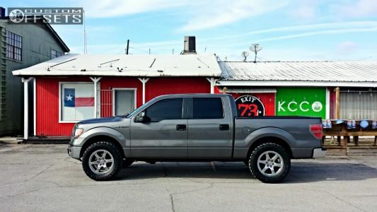 """2010 Ford F-150 - 20x8.5 38mm - Roush Performance Roush F150 - Leveling Kit - 35"""" x 12.5"""""""