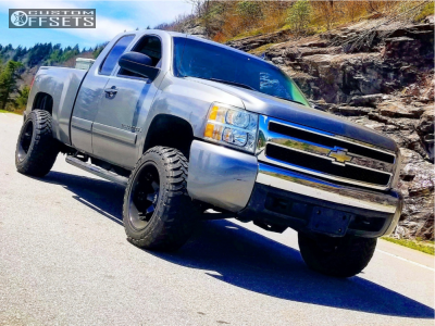 "2008 Chevrolet Silverado 1500 - 20x12 -44mm - Fuel Octane - Suspension Lift 3.5"" - 33"" x 12.5"""