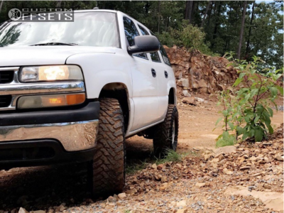 """2005 Chevrolet Tahoe - 16x8.5 31mm - Spaced Out Stockers Spaced Out Stockers - Suspension Lift 3"""" - 285/75R16"""