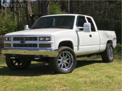 "1996 Chevrolet K1500 - 20x9 -12mm - XD Badlands - Leveling Kit - 33"" x 12.5"""