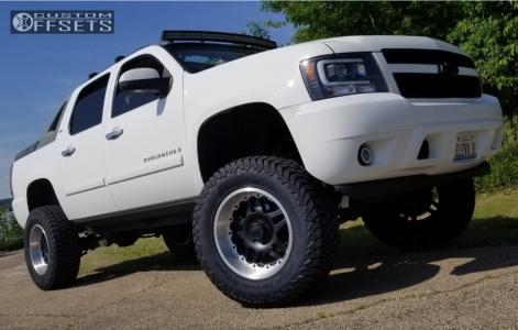 "2007 Chevrolet Avalanche 1500 - 20x10 -25mm - Gear Off-Road Drivetrain - Lifted >12"" - 37"" x 12.5"""