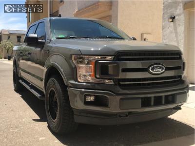 2018 Ford E-150 - 18x9 18mm - Method Grid - Stock Suspension - 275/70R18