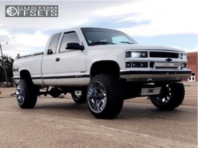 "1998 Chevrolet K1500 - 22x14 -76mm - Cali Offroad Americana - Suspension Lift 6"" - 35"" x 12.5"""
