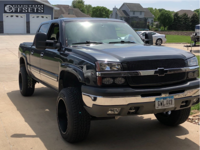 "2004 Chevrolet Silverado 1500 Classic - 20x12 -44mm - Red Dirt Road Rd01 - Suspension Lift 6"" - 275/60R20"